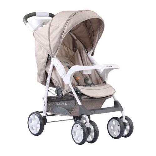 Adamex, Quatro Imola, wózek spacerowy, beżowy - sprawdź w wybranym sklepie