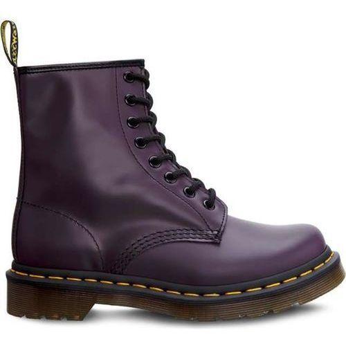 Dr Martens 1460 purple DM11821500 - Buty Glany Damskie - fioletowy, kolor fioletowy