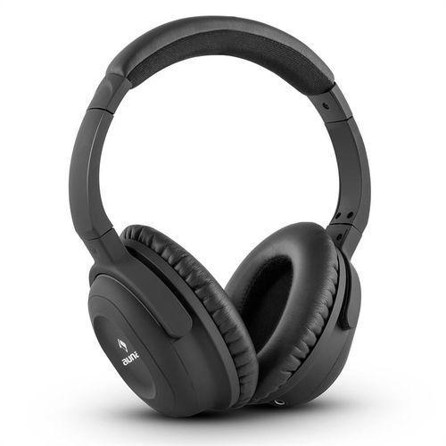 Auna ANC-10 zestaw słuchawkowy z filtrem do redukcji szumów hardcase adapter kolor czarny Zamów ten produkt do 21.12.16 do 12:00 godziny i skorzystaj z dostawą do 24.12.2016