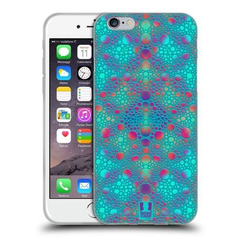 Etui silikonowe na telefon - Chameleon Skin Patterns BLUE, kolor niebieski