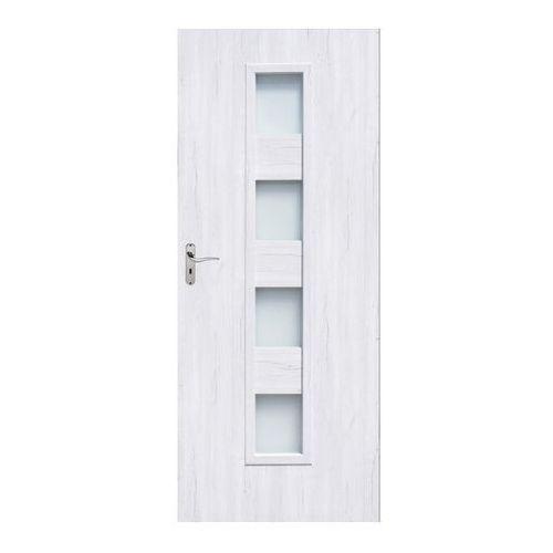 Drzwi pokojowe Alicja 90 prawe silver