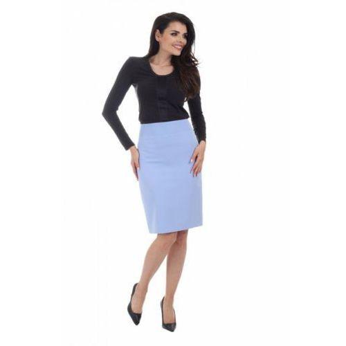 Spódnica Model J 9 Sky Blue, kolor niebieski