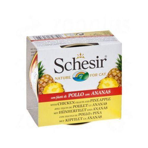 fruit, 6 x 75 g - kurczak z jabłkiem marki Schesir