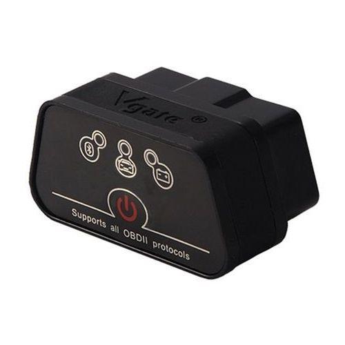Vgate Code reader, diagnostyki scanner, samochodu mini elm327 obd2/obdii pojazd samochód interface diagnostykę z systemem android, czarny (0601557435026)