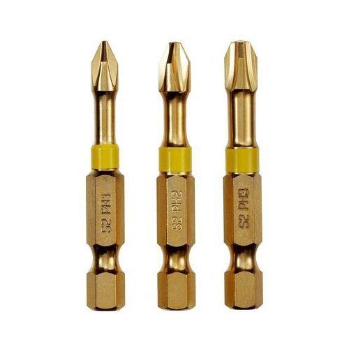 Bity skrętne PH1-3 50 mm 3 szt. DEXTER PRO (3276000593881)