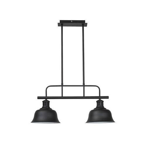 Rabalux 2743 - Żyrandol CAITLIN 2xE27/60W/230V czarny, kolor Czarny