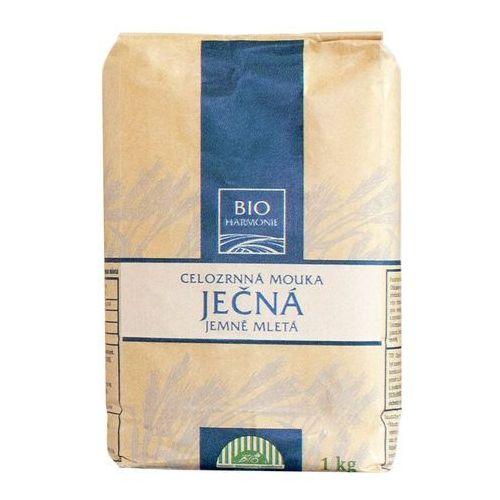 Mąka jęczmienna razowa drobno mielona BIO 1kg - BIOHARMONIE