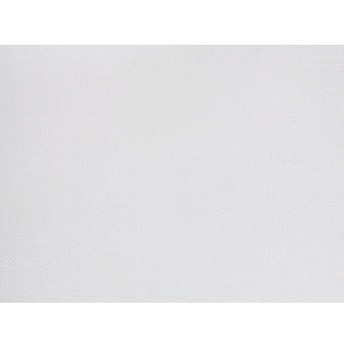 Beliani Zestaw ogrodowy szklany blat 180 cm 6 osobowy białe krzesła grosseto