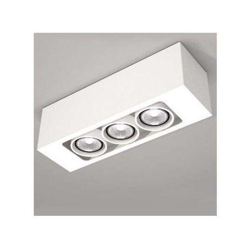 Plafon LAMPA sufitowa SETO 1138/GU10/BI Shilo natynkowa OPRAWA reflektorowa biały, kolor Biały
