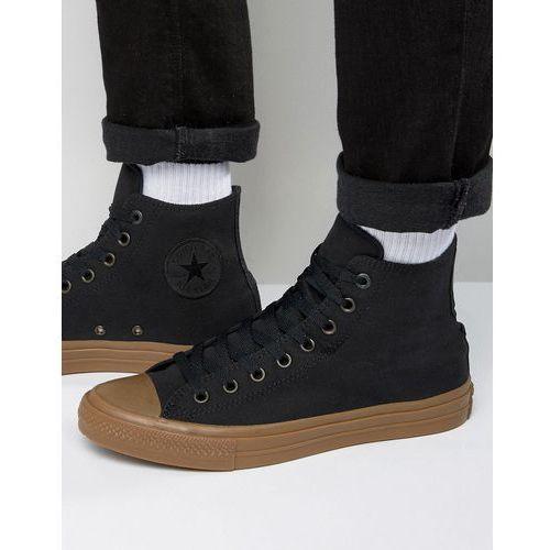 Converse Chuck Taylor All Star II Hi Plimsolls With Gum Sole In Black 155496C - Black ()