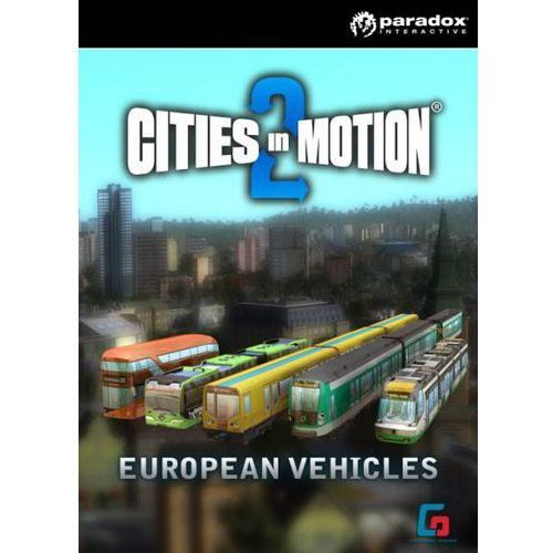 Cities in Motion 2 European Vehicles Pack (PC)