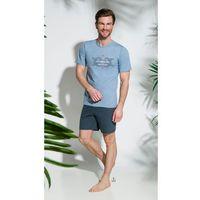 Piżama Taro Gajusz 2198 kr/r M-2XL '18 M, szaro-grafitowy, Taro, 1 rozmiar