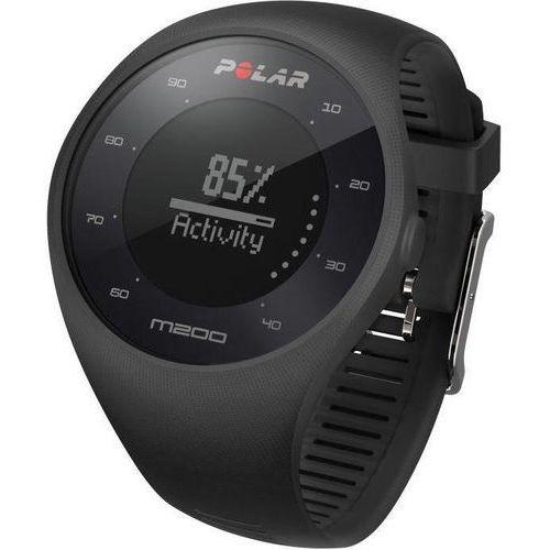 OKAZJA - Polar m200 - zegarek sportowy z gps i pomiarem tętna (czarny)