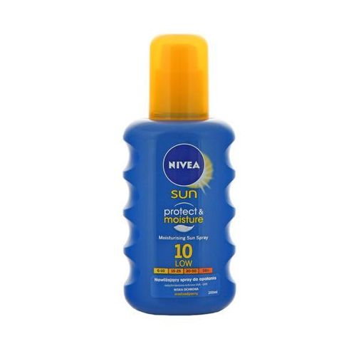 Nivea  200ml sun protect & moisture nawilżający spray do opalania spf10
