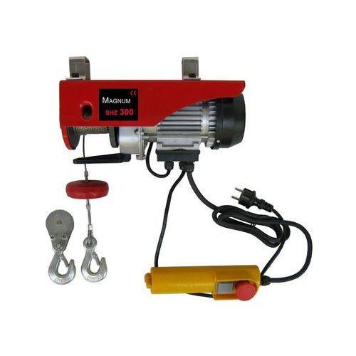 Wciągarka elektryczna linowa SHZ 300 Magnum **Zarejestruj się w sklepie i zyskaj do 15% RABATU!**