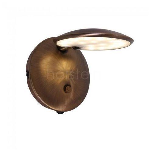 Steinhauer Zenith Lampa ścienna LED Brązowy, 1-punktowy - Nowoczesny - Obszar wewnętrzny - Zenith - Czas dostawy: od 10-14 dni roboczych