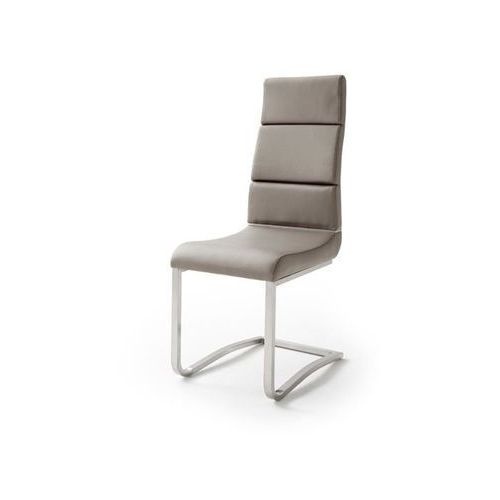 Fato luxmeble Krzesło vence ekoskóra taupe