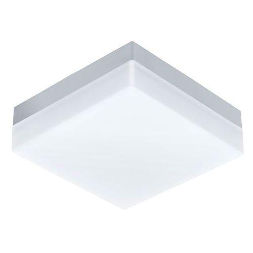 Ogrodowa lampa sufitowa sonella 94871 zewnętrzna oprawa ścienna led 8,2w kwadratowy kinkiet outdoor ip44 biały marki Eglo
