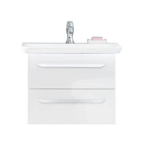 Zestaw mebli łazienkowych umywalka + szafka biała M9 60 LANZET 7204312