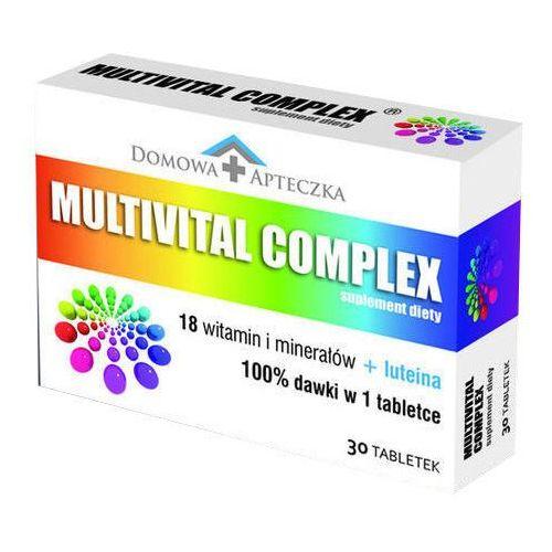 Tabletki DOMOWA APTECZKA MULTIVITAL COMPLEX x 30 tabletek