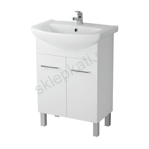 Cersanit olivia szafka pod umywalkę libra 50, biała s543-005-dsm (5907720644789)