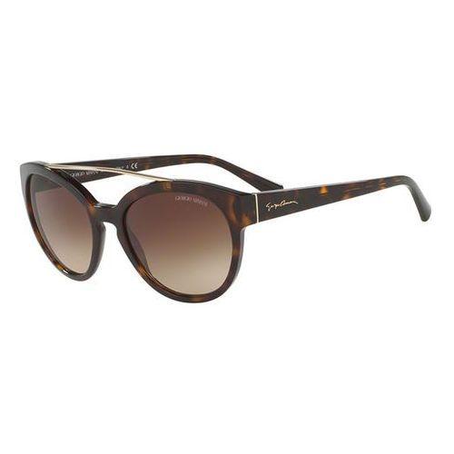 Okulary słoneczne ar8086f asian fit 502613 marki Giorgio armani