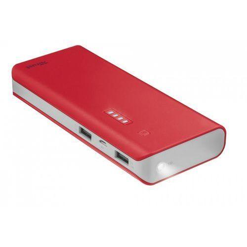 Powerbank primo 10000 czerwono-srebrny 22073 marki Trust