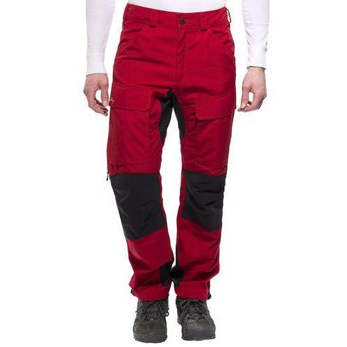 Lundhags Authentic Spodnie długie Mężczyźni czerwony 46 2017 Spodnie turystyczne