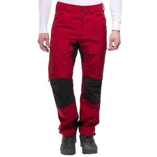 Lundhags Authentic Spodnie długie Mężczyźni czerwony 48 2017 Spodnie turystyczne (7318731314956)