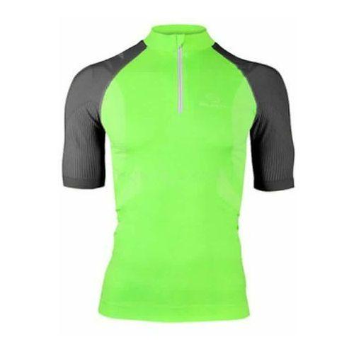 ss10410 - koszulka rowerowa unisex (zielony) marki Brubeck