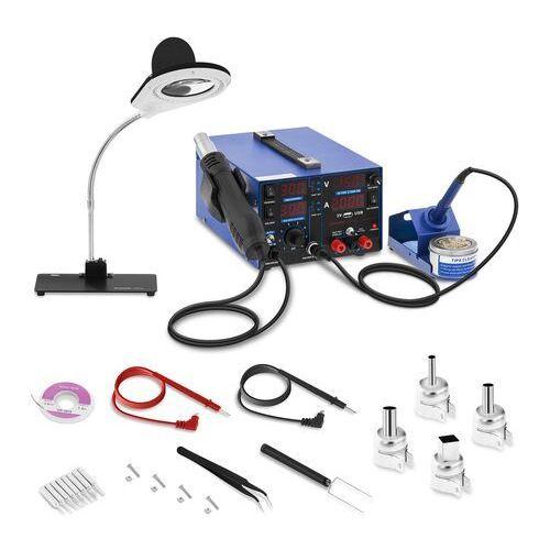 Stamos soldering stacja lutownicza - 3 w 1 - usb - lampa powiększająca s-ls-22 - 3 lata gwarancji
