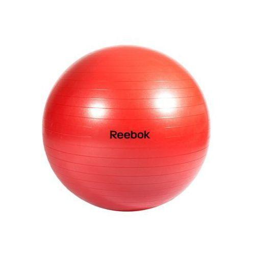 - rab-11017rd - piłka gimnastyczna 75 cm - czerwony marki Reebok
