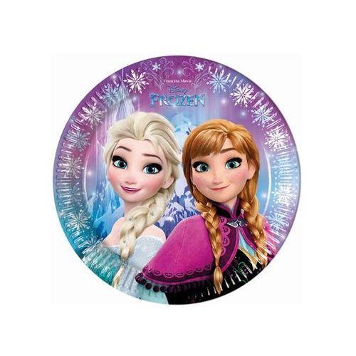 Talerzyki urodzinowe Frozen - Kraina Lodu - 23 cm - 8 szt., towar z kategorii: Dekoracje i ozdoby dla dzieci