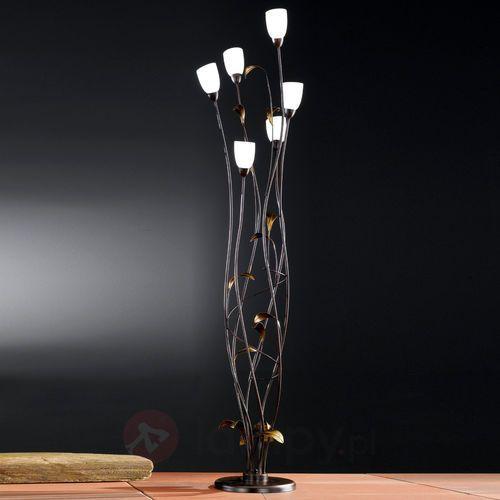 supra lampa stojąca rudy, 6-punktowe - dworek - obszar wewnętrzny - supra - czas dostawy: od 4-8 dni roboczych marki Honsel