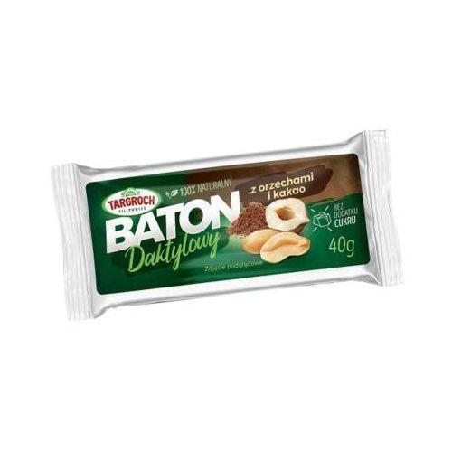 TARGROCH 40g Baton daktylowy z orzechami i kakao
