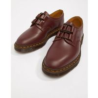 Dr Martens Henton Ghillie shoes in oxblood - Red