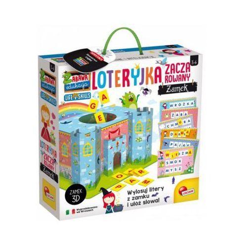Gra edukacyjna loteryjka - zaczarowany zamek marki Lisciani
