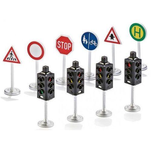 Zabawka zestaw znaków i sygnalizacji świetlnej marki Siku