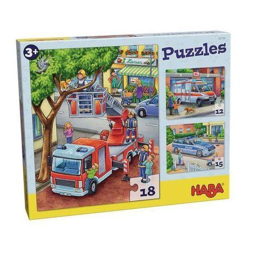 Haba Puzzles służby mudurowe w akcji (3 mot)