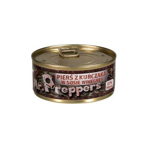Mr. preppers Pierś z kurczaka w sosie winegret 160 g