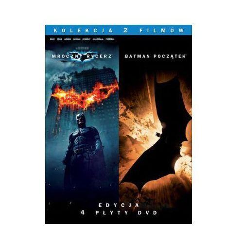 Batman Początek / Mroczny Rycerz kolekcjonerski (4xDVD) - Christopher Nolan (7321909249509)