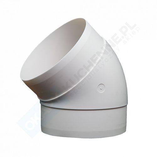 Domus Kolanko okrągłe 45° fi 12,5 cm kod 591 - największy wybór - 14 dni na zwrot - pomoc: +48 13 49 27 557
