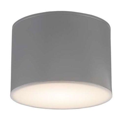 Plafon lampa sufitowa suwa 8001/gx53/sz łazienkowa oprawa natynkowa ip44 szara marki Shilo