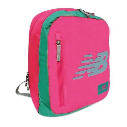 Plecak młodzieżowy New Balance różowy, kolor różowy