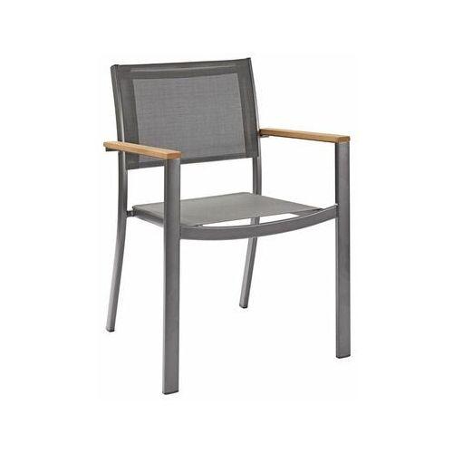 Krzesło ogrodowe ORIS aluminiowe antracytowe NATERIAL (3276000695110)