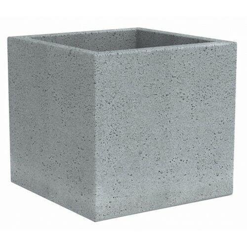 Szara kwadratowa donica jak betonowa C-Cube 30 (4033083558225)