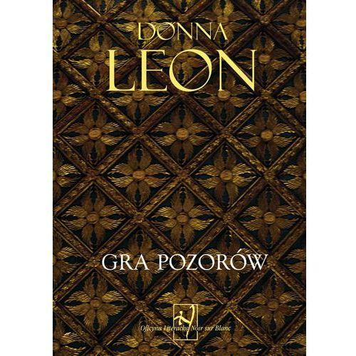 GRA POZORÓW - Leon Donna, oprawa miękka