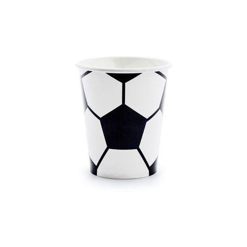 Kubeczki papierowe piłka nożna, 6 szt. marki Partydeco