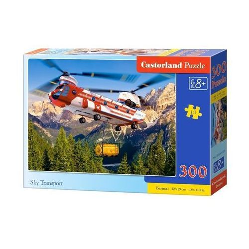 Castor Puzzle 300 elementów : sky transport b-030125 (5904438030125)