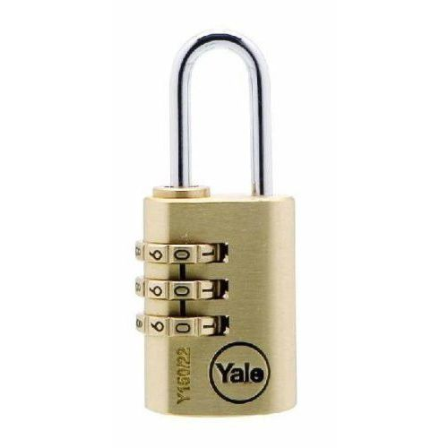 Y150/22/120/1 mała kłódka szyfrowa marki Yale